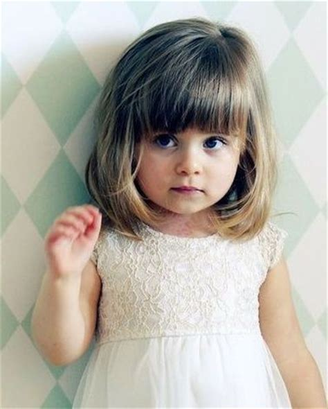 Haircut For 8year W Bangs | 401 best images about little girl haircuts on pinterest