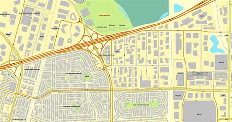 san jose california on us map san jose california us printable vector map city