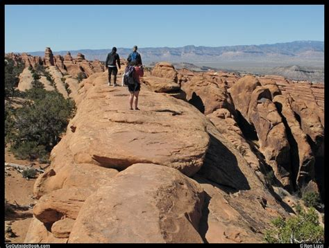 Devils Garden Trail by Devils Garden Trail Arches National Park Utah Go
