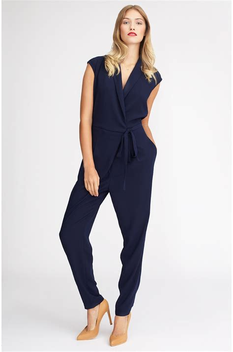 Overal Jumpsuit overall to wrap around the waist in blue