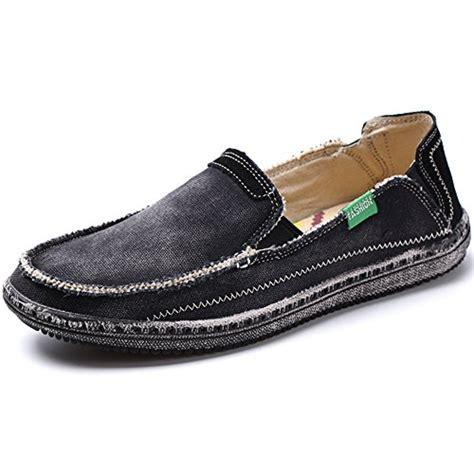 Canvas Platform Boat Shoes vilocy s slip on deck shoes canvas loafer vintage flat