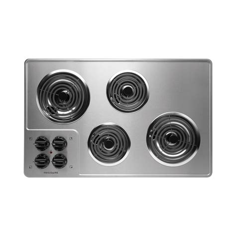 32 Electric Cooktop frigidaire ffec3205ls 32 electric cooktop sears outlet