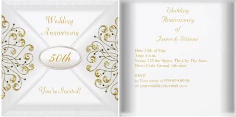 50th anniversary invitations city 50th wedding anniversary invitations complete guide