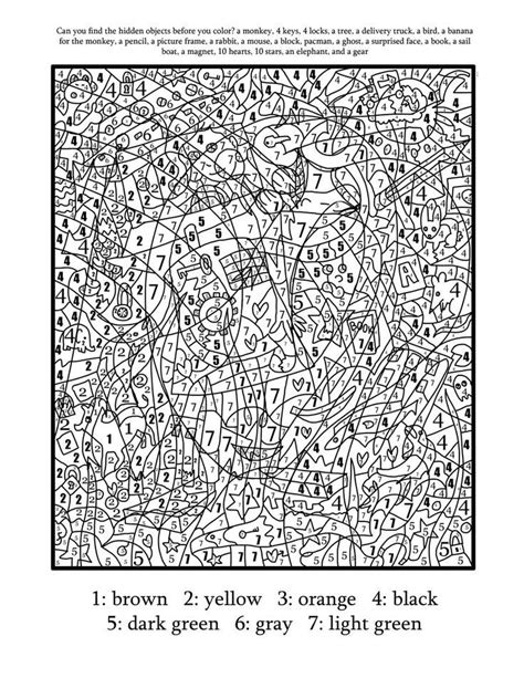 super advanced coloring pages difficult color by number super awesome best ever color