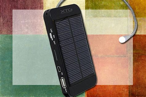 xtg solar charger 25 cool gadgets for 50 or less computerworld