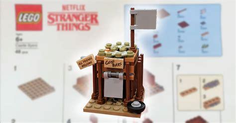 brickfinder lego stranger  castle byers instructions