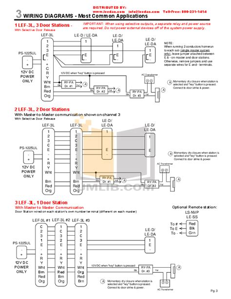 wiring diagram for aiphone intercom diagram free