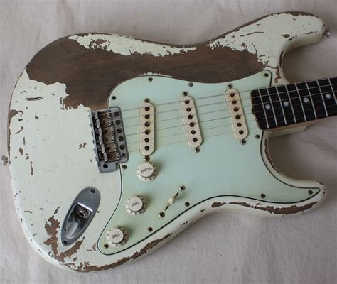 a shabby chic guitar goes well against what guitars should look like chic