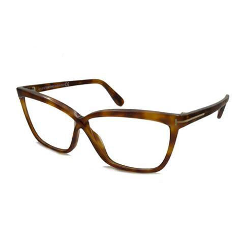 tom ford womens eyeglasses ft5267 053 light brown