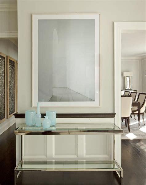 glass top foyer table glass top foyer table with gold bamboo mirror