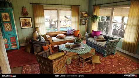 a room thieves uncharted 4 a thief s end by boon cotter on artstation environment inspiration