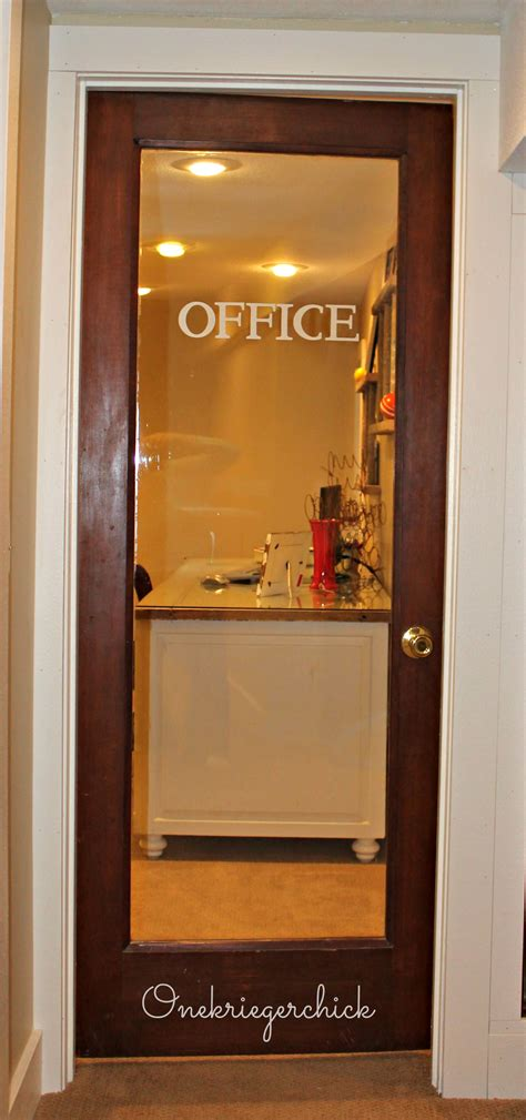 home office doors with glass home office update and a giveaway winner onekriegerchick