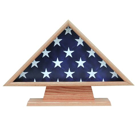 flag cases large triangle with pedestal triangle flag on pedestal