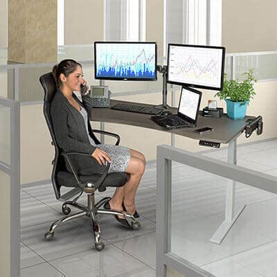 sitting to standing desk workwise standing desks buying guide tripp lite