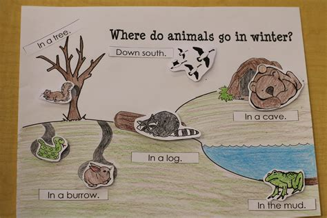 where the animals go search results for printable hibernating animals in winter calendar 2015