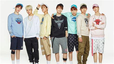 got7 group photo got7 celebrates 1000 days since debut soompi