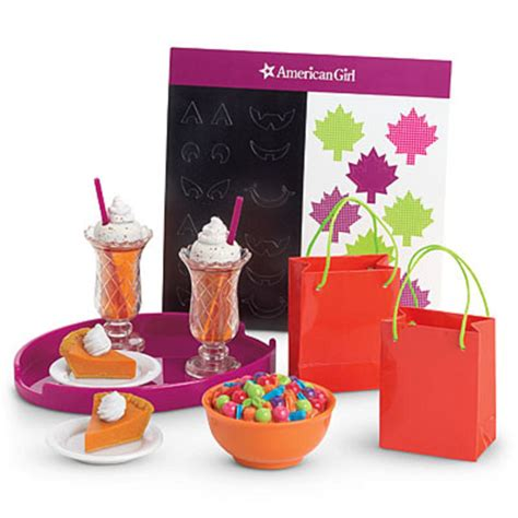 Gir Set 1 american my ag fall treat set for 18 quot dolls