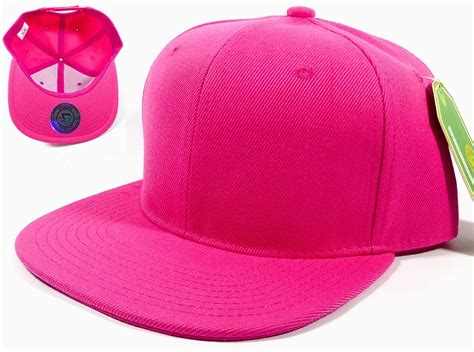Exclusive Hat Baseball Strapback Line Bling Pink blank snapback hats caps wholesale solid pink