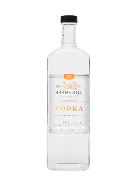 Vodka Top Shelf by Top Shelf Vodka Lcbo