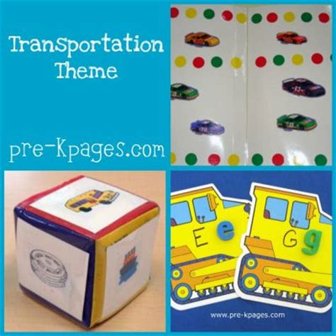 a to z of transportation themed crafts and transportation preschool theme activities pre k pages