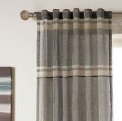 Grey Plaid Curtains Grey Plaid Curtains Window Treatments