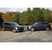 2017 Jaguar F Pace Vs 2016 Mazda CX 9 Compare Cars