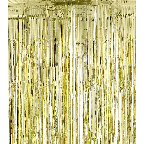 gold shimmer curtains gold shimmer curtain party kitsch
