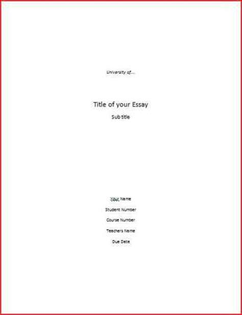 cover page of term paper term paper formatting
