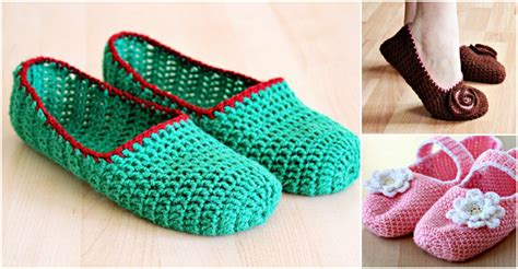 step by step crochet slippers crochet simple slippers how to