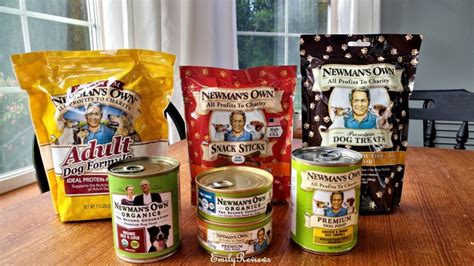 newman s own food newman s own food and treats review emily reviews