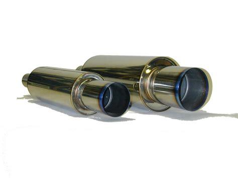 Buntut Knalpot Muffler Hks Universal hks 34005 fk002 universal stainless hi power ti muffler autoplicity