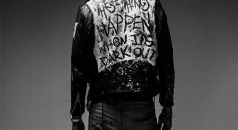 these things happen when its dark out leather jacket g eazy releases random off when it s dark out empty