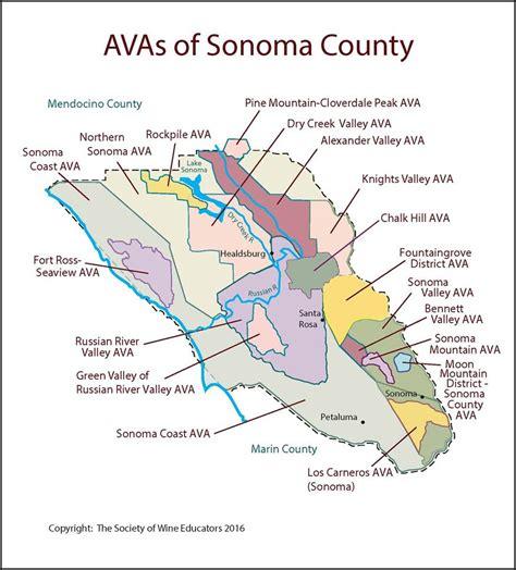 california map sonoma sonoma california swe map 2017 wine wit and wisdom