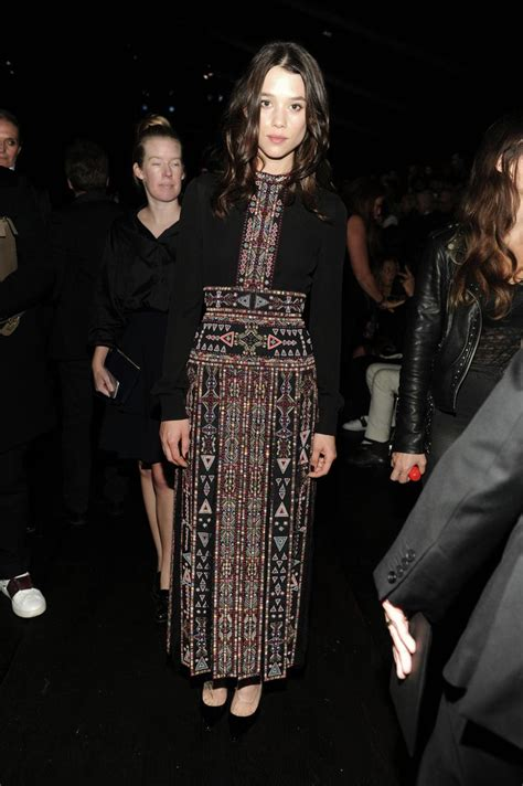 àstrid bergès frisbey valentino astrid berges frisbey in a valentino dress from the spring