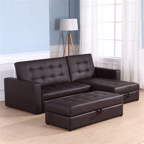 Sectional Sofa Beds by Sofa Bed Storage Sleeper Chaise Loveseat Sectional