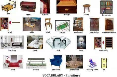 bedroom vocabulary list vocabulary furniture