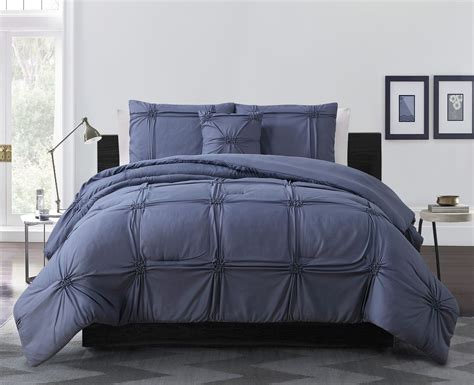 4 piece reese denim comforter set