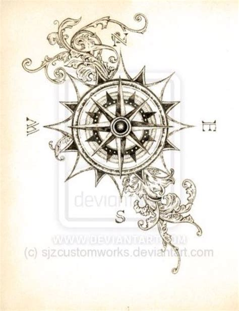 vintage compass rose tattoo 1000 ideas about compass design on