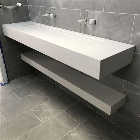 concrete bathroom vanity top 40 best polished concrete bathroom vanity tops images on