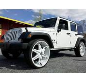 Jeep Wrangler On 26s  Big Rims Custom Wheels