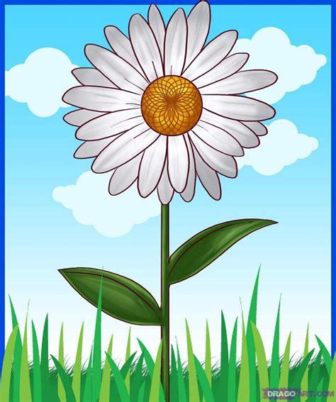 gambar gambar kartun bunga