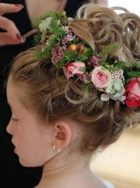 flower girl hairstyles  long hair