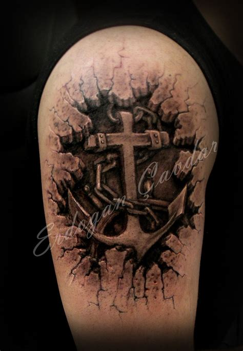 tattoo 3d wood cross tattoos and designs page 13