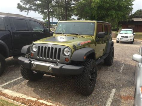 Jeep Wrangler 4 Door 2010 Sell Used 2010 Jeep Wrangler Unlimited Mountain Sport