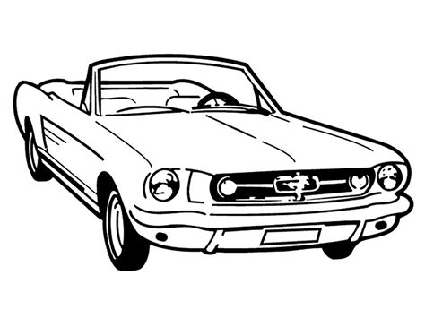 coloring pages of convertible cars sports car ford mustang gt coloring pages womanmate com