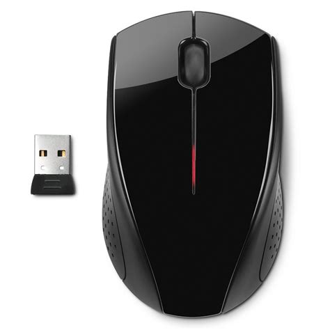 Mouse Hp X3000 hp x3000 wireless optical mouse black jakartanotebook