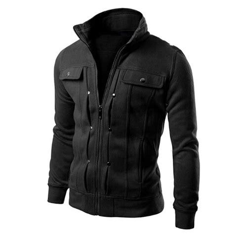 Jaket Zipper Hoodie Knife 01 s plus size autumn winter zipper hoodies jackets coat fashion button pocket design slim