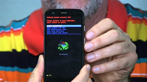 factory reset the moto e moto g how to factory reset via hardware