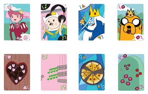 cards adventure time adventure time cards squarexbear