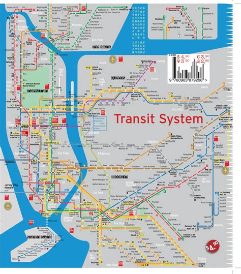 streetsmart nyc midtown manhattan map by vandam laminated pocket sized city map with all attractions museums broadway theaters hotels and subway map 2017 edition books terramaps nyc manhattan and subway map waterproof